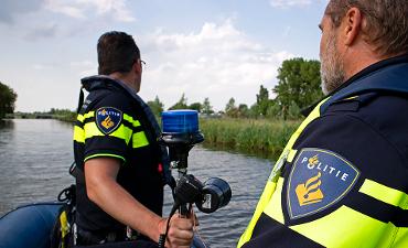 Noord-Holland – Politie Noord-Holland ook op het water actief [video]