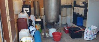 Rilland – Deel drugslab in schuurtje bij woning in Rilland