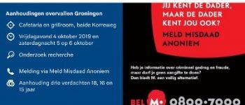 Groningen – Aanhoudingen in onderzoek overvallen