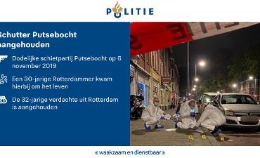 Rotterdam – Verdachte schutter Putsebocht aangehouden