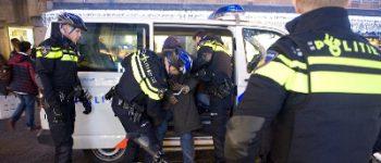 Zwijndrecht – Rotterdam – 07Aanhouding na schietincident Zwijndrecht