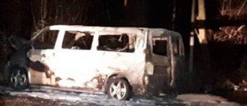 Amstelveen – Duivendrecht – Uitgebrande bestelbus is vluchtauto Escapade