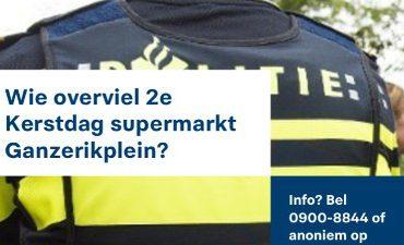Rotterdam – Gezette man overvalt supermarkt Schiebroek