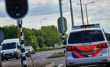 Tilburg – Auto rijdt spook en crasht