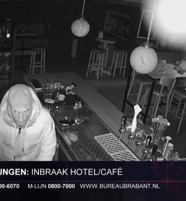 Den Dungen – Gezocht – Inbraak hotel restaurant Boer Goossens