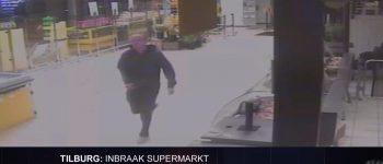 Tilburg – Gezocht – Inbraak in een supermarkt in Tilburg