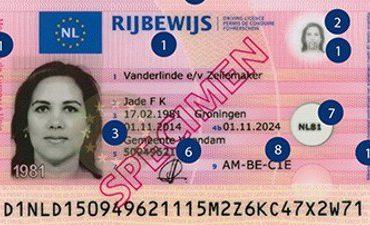 Driebergen, Hoensbroek – Aangehouden met zelfgemaakt rijbewijs