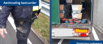 Parkstad – Aanhouding bestuurder vrachtauto met gestolen oplegger