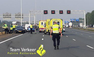 Ridderkerk – Motorrijder (51) overleden bij ongeval op de A15