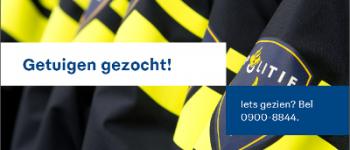 Delft – Getuigenoproep straatroof Aart van der leeuwlaan in Delft