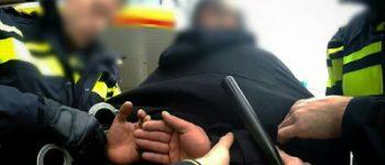 Maassluis – Alerte getuige maakt  aanhouding inbreker mogelijk