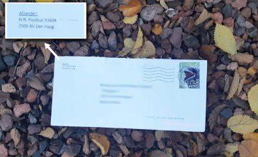 Nederland – Negentien poederbrieven aangetroffen door heel Nederland