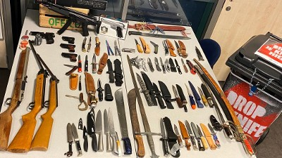 Rotterdam – Ruim 400 wapens ingeleverd in regio Rotterdam